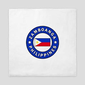 Zamboanga Philippines Queen Duvet