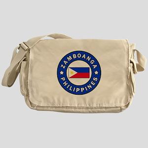 Zamboanga Philippines Messenger Bag