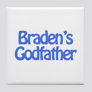 Braden's Godfather Tile Coaster
