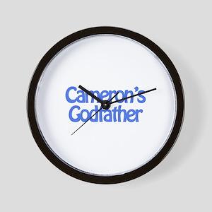 Cameron's Godfather Wall Clock