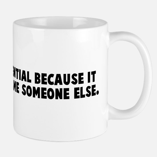 Teamwork is essential because Mug