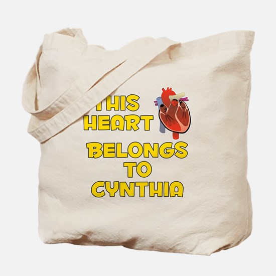 This Heart: Cynthia (A) Tote Bag
