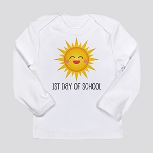 1st Day Of School Happy Sun Long Sleeve T-Shirt