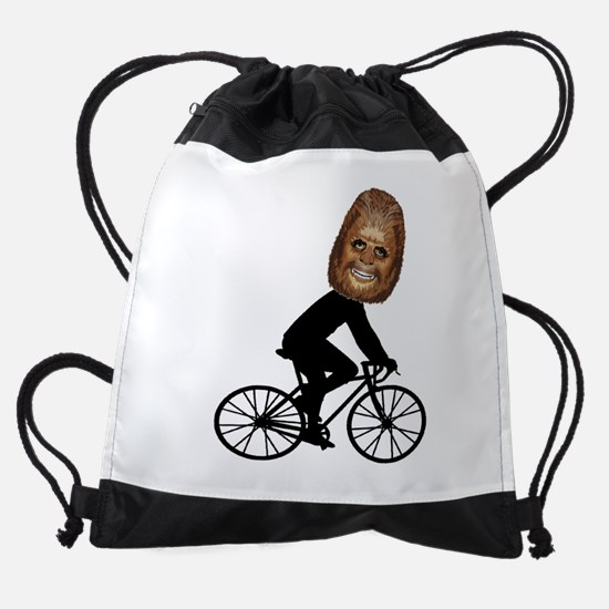HAPPY RIDING Drawstring Bag