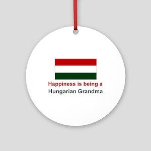 Happy Hungarian Grandma Keepsake Ornament