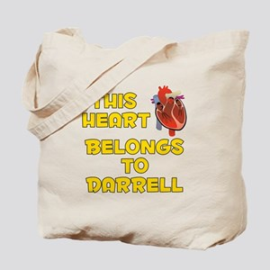 This Heart: Darrell (A) Tote Bag