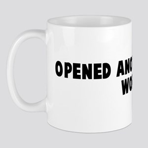 Opened another can of worms Mug