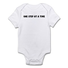 One step at a time Infant Bodysuit