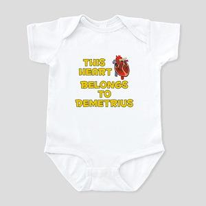 This Heart: Demetrius (A) Infant Bodysuit