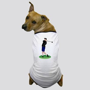 Cool Golfer Dog T-Shirt