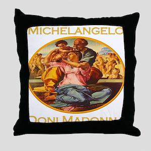 Doni Madonna Throw Pillow