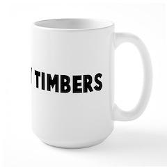Shiver my timbers Large Mug