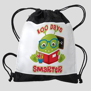 100 Days Boy Monster Drawstring Bag