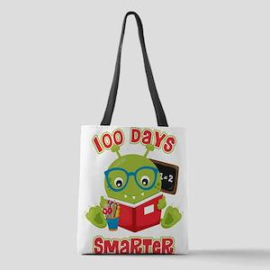 100 Days Boy Monster Polyester Tote Bag