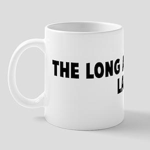 The long arm of the law Mug