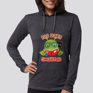 100 Days Boy Monster Womens Hooded Shirt