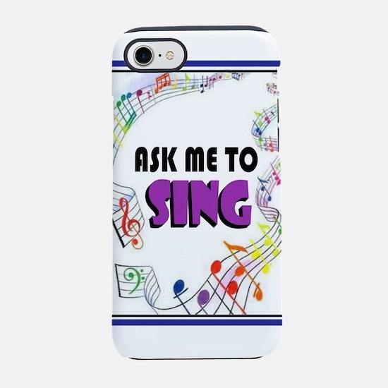 SING iPhone 8/7 Tough Case