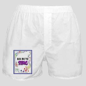 SING Boxer Shorts