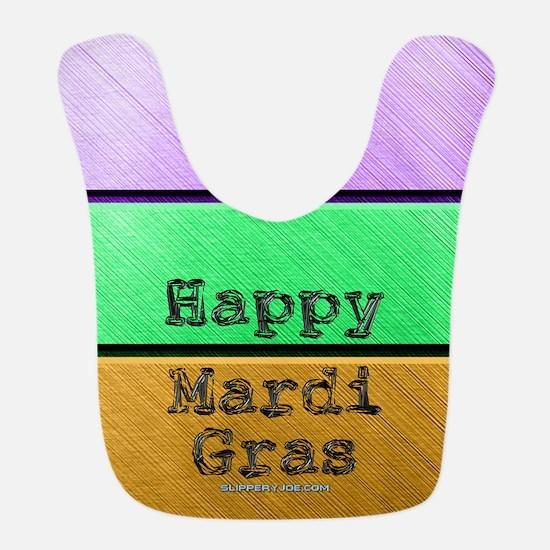 Mardi gras men Polyester Baby Bib