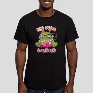 100 Days Girl Monster Men's Fitted T-Shirt (dark)