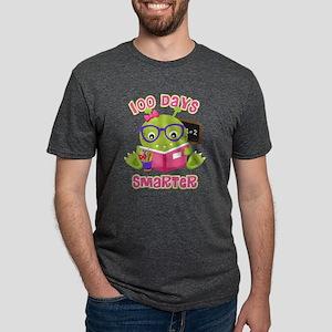 100 Days Girl Monster Mens Tri-blend T-Shirt