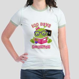100 Days Girl Monster Jr. Ringer T-Shirt