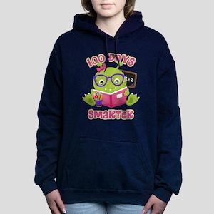 100 Days Girl Monster Women's Hooded Sweatshirt