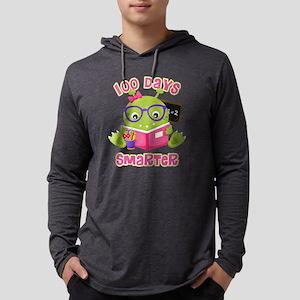 100 Days Girl Monster Mens Hooded Shirt