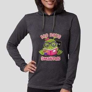 100 Days Girl Monster Womens Hooded Shirt