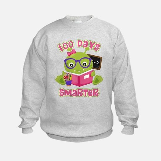 100 Days Girl Monster Sweatshirt