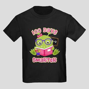 100 Days Girl Monster Kids Dark T-Shirt