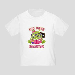 100 Days Girl Monster Toddler T-Shirt