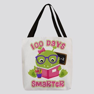 100 Days Girl Monster Polyester Tote Bag