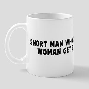 Short man who dance with tall Mug