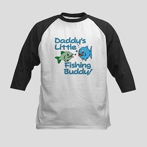 DADDY'S LITTLE FISHING BUDDY! Kids Baseball Jersey
