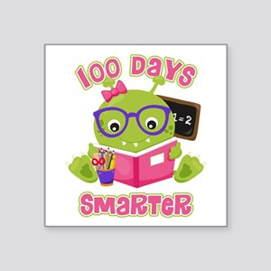 100 Days Girl Monster Sticker