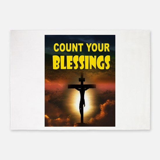 BLESSINGS 5'x7'Area Rug