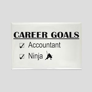 Accountant Carreer Goals Rectangle Magnet