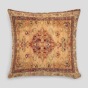 Antique Kerman flowered Pattern Everyday Pillow
