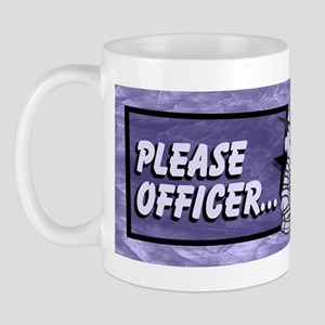 Please Officer... I Was Only Mug