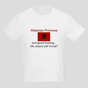 Gd Lkg Albanian Princess Kids Light T-Shirt