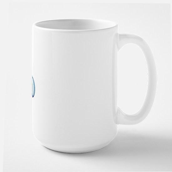 Curling Dad Large Mug