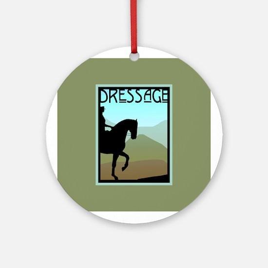 Craftsman Dressage Ornament (Round)