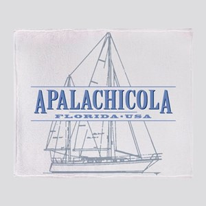 Apalachicola Florida Throw Blanket