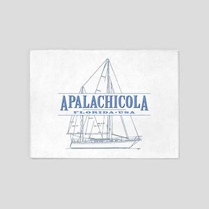 Apalachicola Florida 5'x7'Area Rug