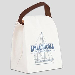 Apalachicola Florida Canvas Lunch Bag