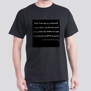 Ghost Hunter's Prayer Dark T-Shirt