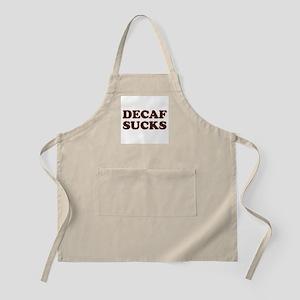 Decaf Sucks BBQ Apron
