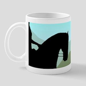 Craftsman Dressage Mug