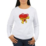 Love Hearts Women's Long Sleeve T-Shirt